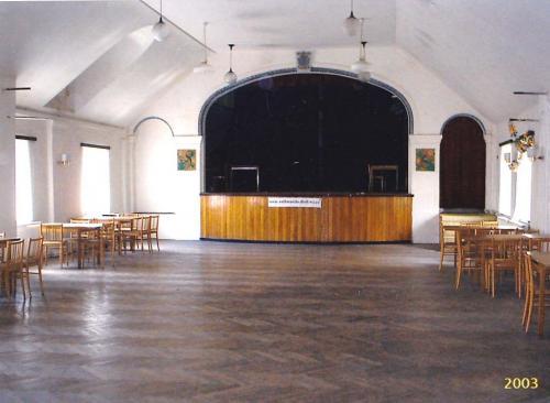 sál kulturního domu