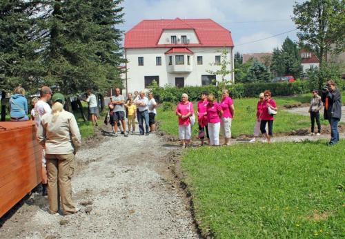 Návštěvníci výstavy Putovní kolíček.